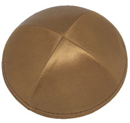 Light Brown Satin Kippah