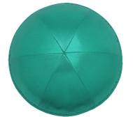 Emerald Green Satin Kippah
