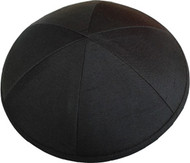 Black Silk Kippah
