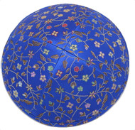 Royal Vine Brocade Kippah