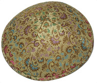 Gold Brocade Kippah