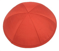 Watermelon Raw Silk Kippah