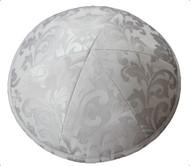 Pale Blue Pattern Silk Kippah