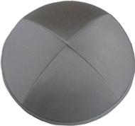 Gray Cotton Kippah