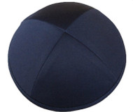 Blue Navy Cotton Kippah