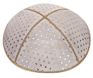 Crown Embossed Kippah