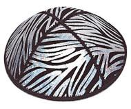 Zebra Embossed Kippah
