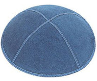 Denim Suede Kippah