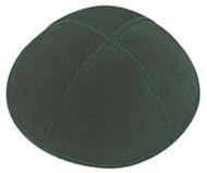 Green Suede Kippah