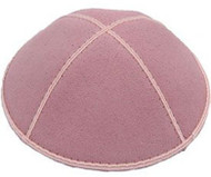 Light Pink Suede Kippah