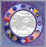 The Circle of Time Ketubah