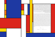 The Horizontal 18 Ketubah