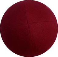 Brick Red Linen Kippah