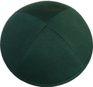 Green Cotton Kippah