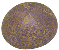 Lavender Beauty Brocade Kippah