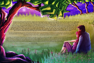 The Evening Star Ketubah 2