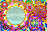 The Unconventional Mandala Ketubah