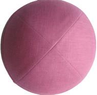 Rose Petal Linen Kippah
