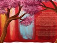Rothko Blooms Ketubah