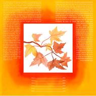 Autumn Of Joy Ketubah by Nishima Kaplan