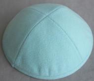 Baby Blue Wool Kippah