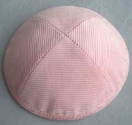 Pale Pink Corduroy Kippah