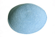 Baby Blue Knit Kippah