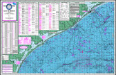 Fishing Map (With GPS) - Hook-N-Line F-131 Gulf of Mexico Offshore