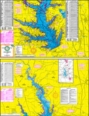 Fishing Map (With GPS) - Hook-N-Line F-105 Lake Conroe