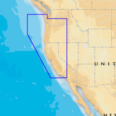 Navionics Platinum+ - Oregon & California - microSD/SD