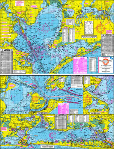Fishing map with gps hook n line f 102 galveston bay for Fishing spots in galveston