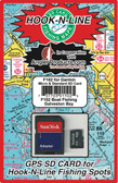 Fishing Hotspots on a chip for Galveston is a preloaded card that works with your GPS/Chartplotter model.   These cards are provided by Angler Products in partnership with Hook-N-Line fishing maps.  Load hundreds of very accurate fishing locations to your GPS in less time than most folks can load one.