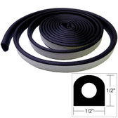 "TACO Weather Seal - 10'L x 1/2""W x 1/2""H - Black"