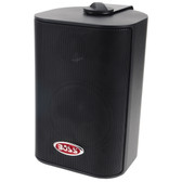 "Boss Audio MR4.3B 4"" 3-Way Marine Enclosed System Box Speakers - 200W - Black"