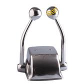 Ongaro Standard Control Arm Set w/Gold Throttle Knob & Plain Shift Knob