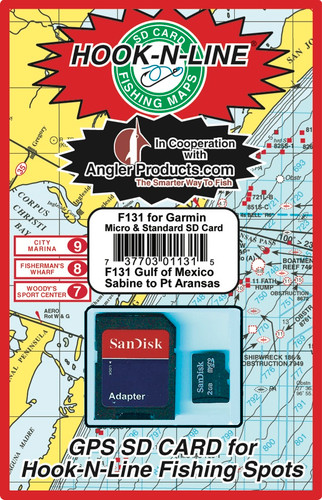 Fishing Hotspots on a chip for Chandeleur Islands off the coast of New Orleans is a preloaded card that works with your GPS/Chartplotter model.   These cards are provided by Angler Products in partnership with Hook-N-Line fishing maps.  Load hundreds of very accurate fishing locations to your GPS in less time than most folks can load one.