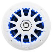 "Boss Audio MRGB65 Coaxial Marine Speakers w/RGB LED Lights - 6.5"""