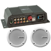 "Lowrance Sonichub Marine Audio Server w\/6.5"" Speakers"