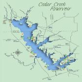 Fishing Hotspots - Hook-N-Line F-125 Cedar Creek Lake