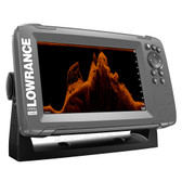 """Lowrance HOOK-7x 7"""" GPS SplitShot Fishfinder w\/Track Plotter Transom Mount SplitShot Transducer"""