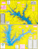 Fishing Map (With GPS) - Hook-N-Line F-110 Lake Fork