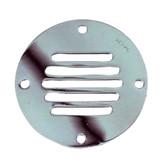 "Perko Chrome Plated Brass Round Locker Ventilator - 3-1\/4"""