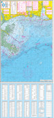 Fishing Map (With GPS) - Hook-N-Line F-129 Gulf of Mexico Offshore