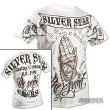 """AWMA® Silver Star® Rob Emerson """"The Saint"""" Premium T-Shirt - White"""