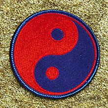 AWMA® Yin & Yang - Red and Blue Patch