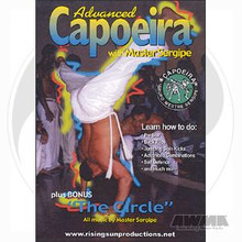 AWMA® DVD: Advanced Capoeira with Master Sergipe