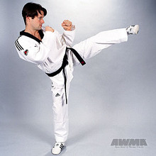 AWMA® adidas® Tae Kwon Do Grandmaster Uniform w/Stripes