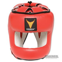 AWMA® ProForce® Thunder™ Vinyl MMA Head Guard - Red