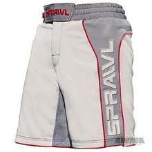 AWMA® Sprawl® Fusion™ 2 Stretch Shorts - Gray/Charcoal/Red