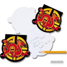 AWMA® Dragon Notepad Set of 12
